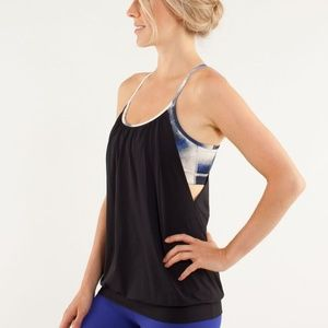 Lululemon Milky Way No Limit Tank Sz 6